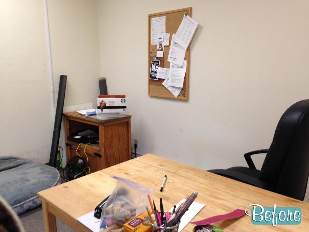 File Cabinet Corner before